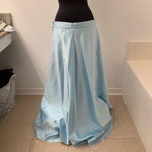 Dresses & Skirts - Blue Cinderella ball gown long skirt Sz 17 XL